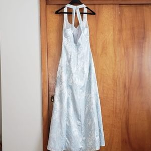 unknown Dresses - Ice Blue Formal Gown